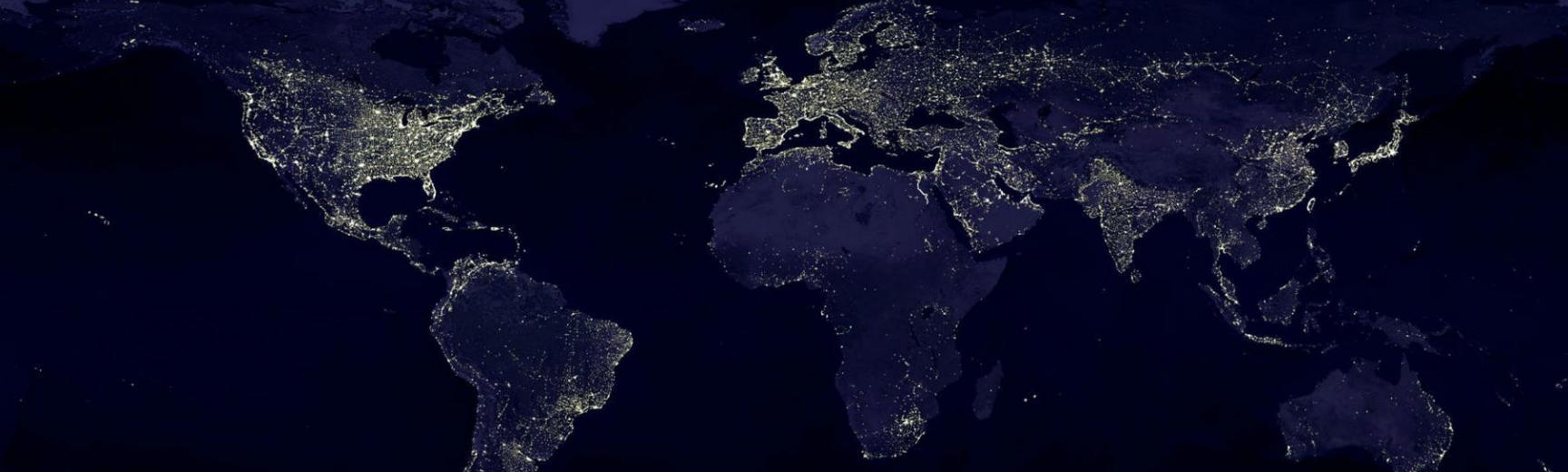 earth earth at night night lights 41949 pexels2